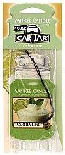 Kup Zapach do samochodu - Yankee Candle Car Jar Vanilla Lime