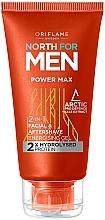 Kup Żel po goleniu 2 w 1 - Oriflame North for Men Power Max