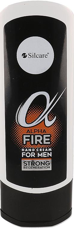 Krem do rąk dla mężczyzn - Silcare Alpha Fire Hand Cream For Men  — фото N1