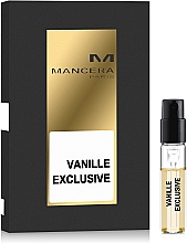 Mancera Vanille Exclusive - Woda perfumowana (próbka) — фото N1