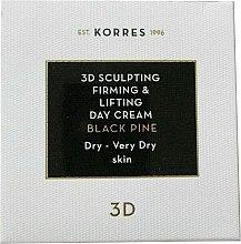 Modelujący krem ujędrniający na dzień do cery suchej i bardzo suchej - Korres Black Pine 3D Sculpting, Firming & Lifting Day Cream Dry And Very Dry Skin — фото N1