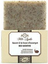 Kup Organiczne mydło ze śluzem ślimaka Mięta - Mlle Agathe