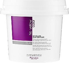 Kup Rozjaśniająca glinka do włosów - Fanola No Yellow Clay Lightner