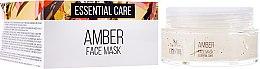Kup PRZECENA! Bursztynowa maska esencjonalna do twarzy - SM Collection Crystal Amber Face Mask*