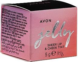Kup Żelowy róż do ust i policzków - Avon Jelly Sheer Lip & Cheek Tint