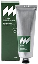 Kup Krem do golenia z ekstraktem z aloesu - Monolit Skincare For Men Shave Cream With Aloe Vera Extract
