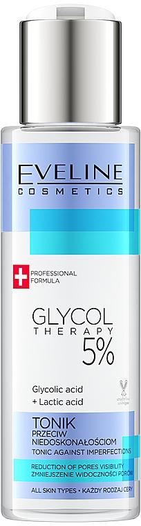Tonik przeciw niedoskonałościom - Eveline Cosmetics Glycol Therapy 5%