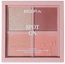 Kup Paleta do makijażu twarzy - Moira Spot On Face Palette