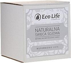 Kup Zapachowa świeca sojowa Wspomnienia lata - Eco Life Candles