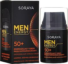 Kup Energizujący krem przeciwzmarszczkowy do twarzy dla mężczyzn 50+ - Soraya Men Energy