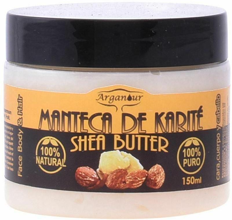 Masło shea do twarzy, ciała i włosów - Arganour Shea Butter Face, Body & Hair  — фото N1
