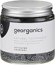 Naturalna pasta do zębów - Georganics Activated Charcoal Natural Toothpaste — фото N4