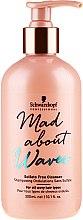 Kup Nawilżający szampon bez siarczanów do włosów kręconych - Schwarzkopf Professional Mad About Waves Sulfate Free Cleanser