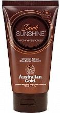 Kup Balsam do opalania z masłem shea i ekstraktem z cynamonu - Austraian Gold Sunscreen Dark Magnifying Bronzer Professional Lotion