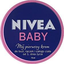 Krem dla dzieci Mój pierwszy krem - Nivea Baby My First Cream — фото N1