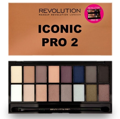 Paleta cieni do powiek - Makeup Revolution Iconic Pro 2 Eyeshadow Palette