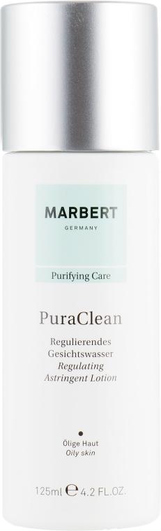 Oczyszczający balsam do skóry tłustej przeciw zaskórnikom - Marbert Pura Clean Regulating Lotion — фото N2