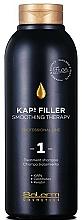 Kup Wygładzający szampon do włosów - Salerm Kaps Filler Smoothing Therapy Shampoo