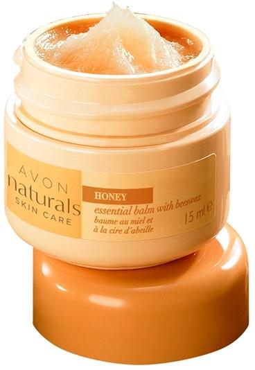 Uniwersalny balsam z woskiem pszczelim i miodem - Avon Naturals Skin Care — фото N1