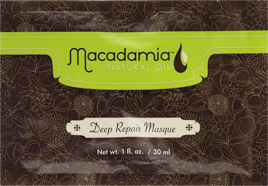 Maska głęboko odbudowująca Olej makadamia - Macadamia Natural Oil Deep Repair Masque (próbka)