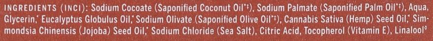 Mydło w kostce Eukaliptus - Dr. Bronner's Pure Castile Bar Soap Eucalyptus — фото N3
