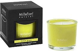 Kup Świeca zapachowa Trawa cytrynowa - Millefiori Milano Natural Candle Lemon Grass