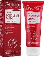 Kup Odmładzający krem rozjaśniający do rąk - Guinot Longue Vie Mains Hand Cream