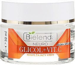 Nawilżający krem z witaminą C na dzień SPF 20 - Bielenda Neuro Glicol + Vit.C — фото N2