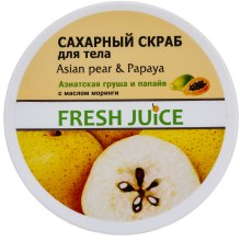 Kup Scrub do ciała Azjatycka gruszka i papaja - Fresh Juice Asian Pear & Papaya