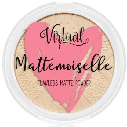 Matujący puder do twarzy - Virtual Mattemoiselle Flawless Matte Powder