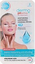 Kup Hydrożelowe płatki nawilżające 4D pod oczy Ekspresowe nawilżenie i odświeżenie - Dermo Pharma