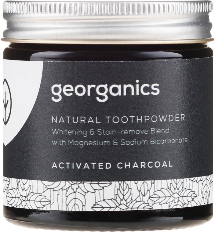 Naturalny proszek do zębów - Georganics Activated Charcoal Natural Toothpowder — фото N2