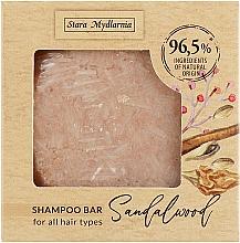 Kup Twardy szampon do włosów Drzewo sandałowe - Stara Mydlarnia Bodychillout Sandalwood Shampoo Bar