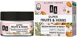 Kup Ujędrniająco-wygładzający balsam olejowy w świecy Migdał i rozmaryn - AA Super Fruits & Herbs