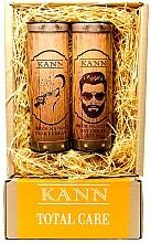 Kup Zestaw - Kann Total Care Man (f/d/cr 50 ml + f/n/cr 50 ml)