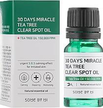 Kup Łagodzący olejek do twarzy do skóry wrażliwej - Some By Mi 30 Days Miracle Tea Tree Clear Spot Oil