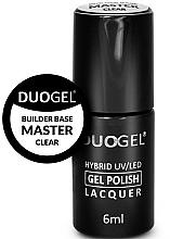 Kup Baza pod lakier hybrydowy do paznokci - Duogel Builder Base Master Clear
