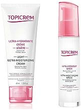Kup Zestaw peelingu i maski do ust Limonka i Gruszka - Zestaw prezentowy Topicrem Skin Care (krem/40ml + serum/7ml)