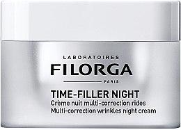 Kup Multikorekcyjny krem przeciwzmarszczkowy do twarzy - Filorga Time-filler Night Cream