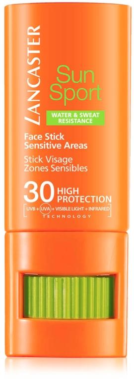 Przeciwsłoneczny sztyft do twarzy SPF 30 - Lancaster Sun Sport Face Stick — фото N1