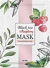 Kup Ujędrniająco-nawilżająca maseczka do twarzy Czarna herbata i malina - A:t fox Black Tea Raspberry Mask