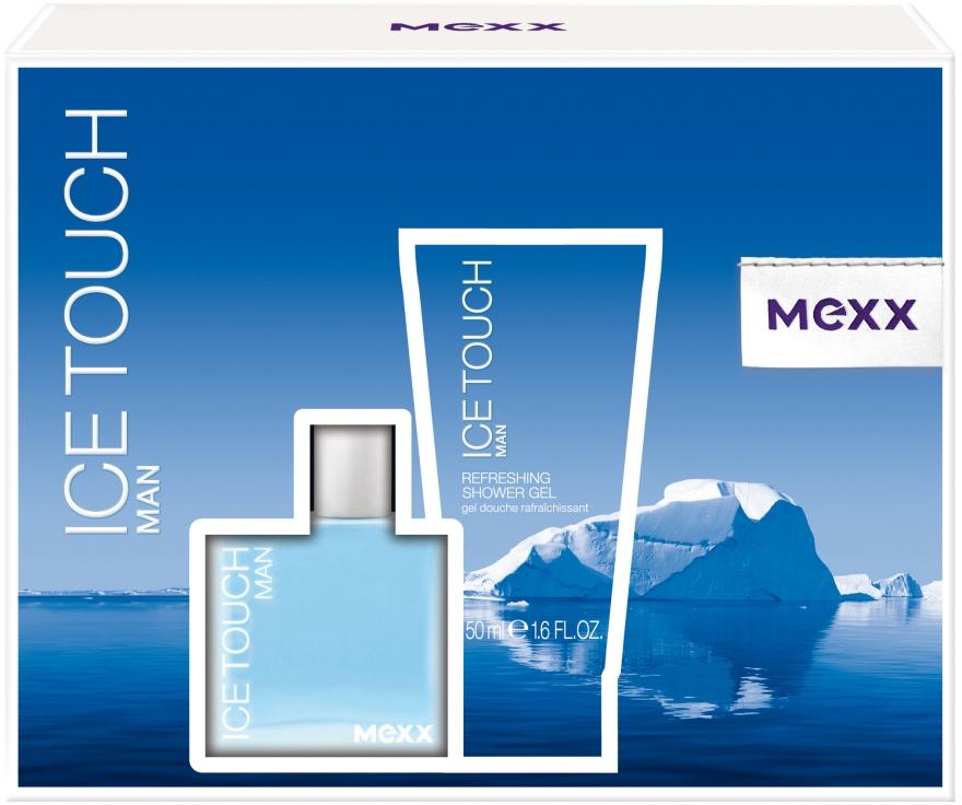 Mexx Ice Touch Man - Zestaw (edt/30ml + sh/gel/50ml)