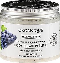 Kup Odmładzający peeling cukrowy do ciała - Organique Spa Therapies Grape Sugar Peeling