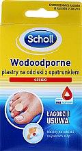 Wodoodporne plastry na odciski z opatrunkiem - Scholl Waterproof Bandages — фото N1