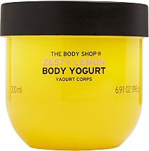 Jogurt do ciała, Cytryna - The Body Shop Zesty Lemon Body Yogurt — фото N1