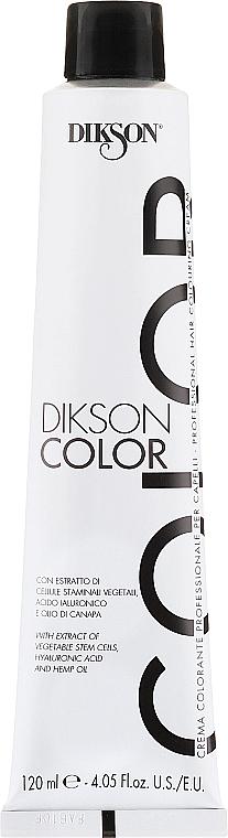 PRZECENA! Profesjonalny krem koloryzujący do włosów - Dikson Professional Hair Colouring Cream * — фото N2