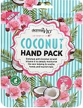 Kup Nawilżająca maska do rąk Olej kokosowy i witamina E - Derma V10 Coconut Hand Pack