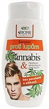 Kup Szampon przeciwłupieżowy dla mężczyzn Konopie - Bione Cosmetics Cannabis Anti-Dandruff Shampoo For Men