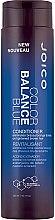 Kup Odżywka do włosów w odcieniach jasnego brązu neutralizująca żółte tony - Joico Color Balance Blue Conditioner