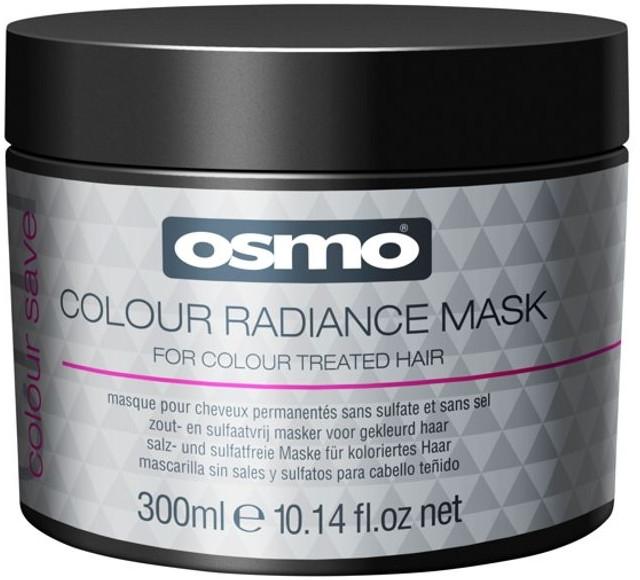 Maska do włosów farbowanych - Osmo Colour Save Colour Radiance Mask — фото N1